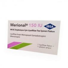 Мерионал 150 МЕ лиофилизат для приготовления раствора №1