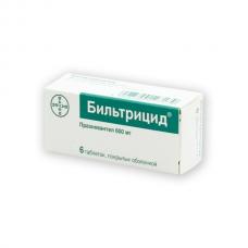 Бильтрицид таблетки 600 мг. №6