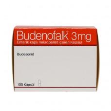 Буденофальк 3 мг. капсулы №100