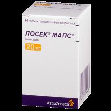 Лосек мапс таб 20 мг. №28