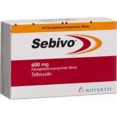 Себиво таблетки 600 мг. 28