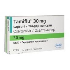 Тамифлю капсулы 30 мг. 10шт