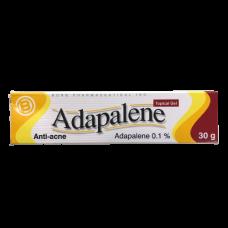 Адапален (Дифферин) гель для наружного прим.0.1% 30 г