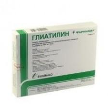 Глиатилин раствор д/ин., 1000 мг/3 мл амп. №3