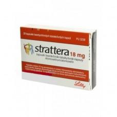 Страттера (атомоксетин) 18 мг. капсулы №28