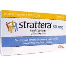 Страттера (атомоксетин) 60 мг. капсулы №28