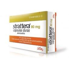 Страттера (атомоксетин) 80 мг. капсулы №28