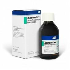 Заронтин (zarontin) 250 мг./5мл. сироп 200 мл. №1