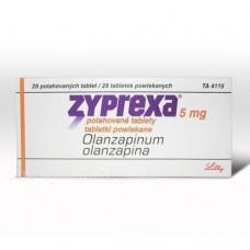 Зипрекса табл. п/о 5 мг