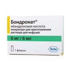 Бондронат концентрат 6 мг /6 мл фл. №1