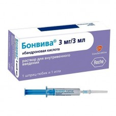 Бонвива раствор 3 мг/3 мл шпр.-тюб. №1