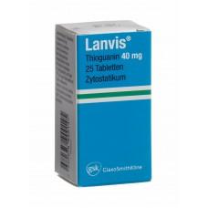 Ланвис  таблетки 40 мг №25