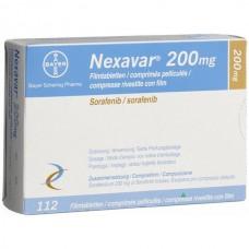 Нексавар таблетки 200 мг №112