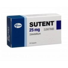 Сутент капсулы 25 мг №28
