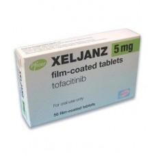 Ксельянз (тофацитиниб) / xeljanz (tofacitinib) табл., покр. п/о, 5 мг №56