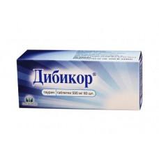Дибикор табл. 500 мг №60
